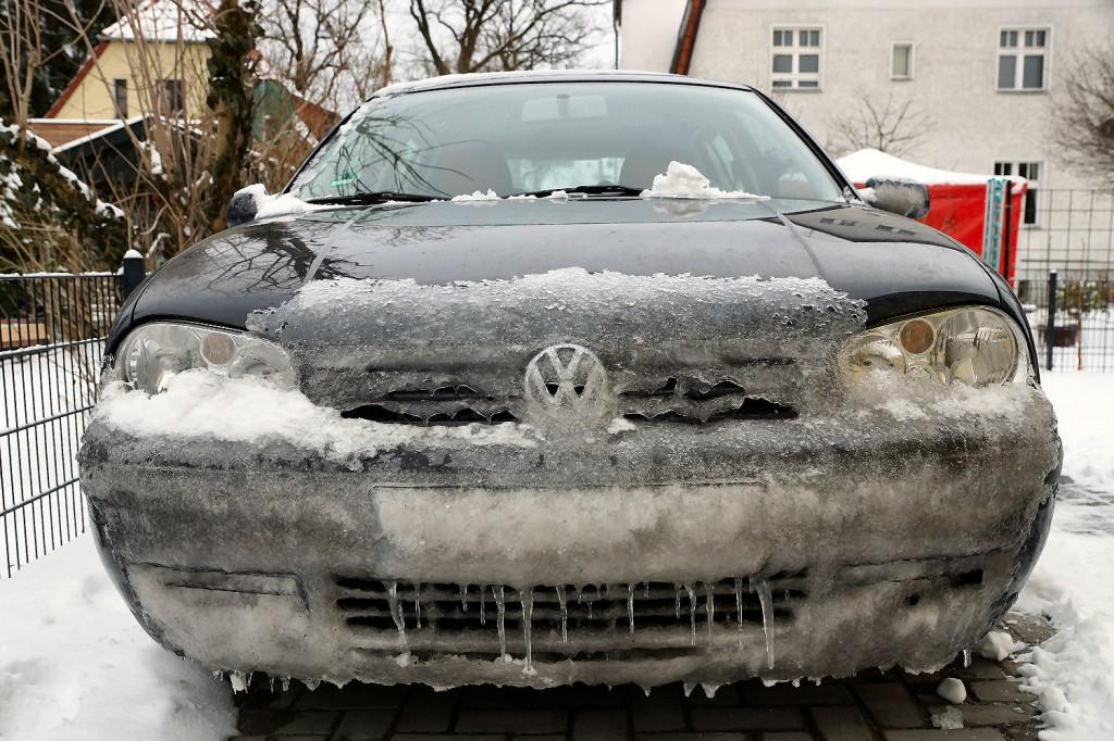 Auto nach der Rückkehr