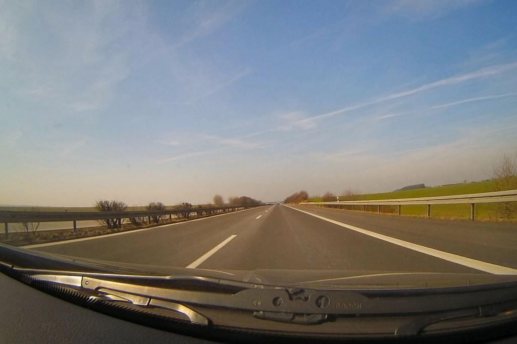 Hinfahrt nach Friedrichskoog