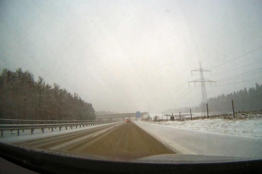 Rückfahrt von Friedrichskoog