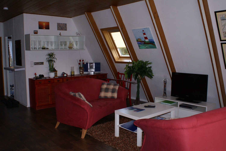 Neu eingerichteter Wohnbereich