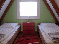 Schlafzimmer mit 2 Einzelbetten 90 x 200cm